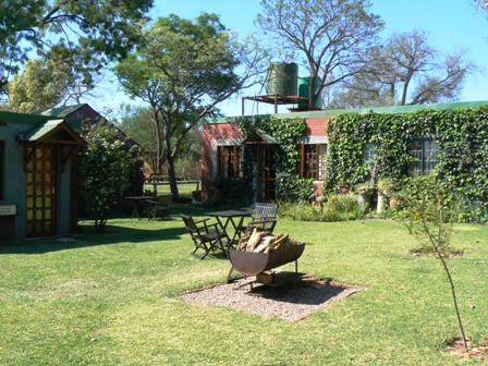 Cottages with communal Braai area